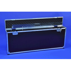 Flight case pour pupitre pliable Plexi
